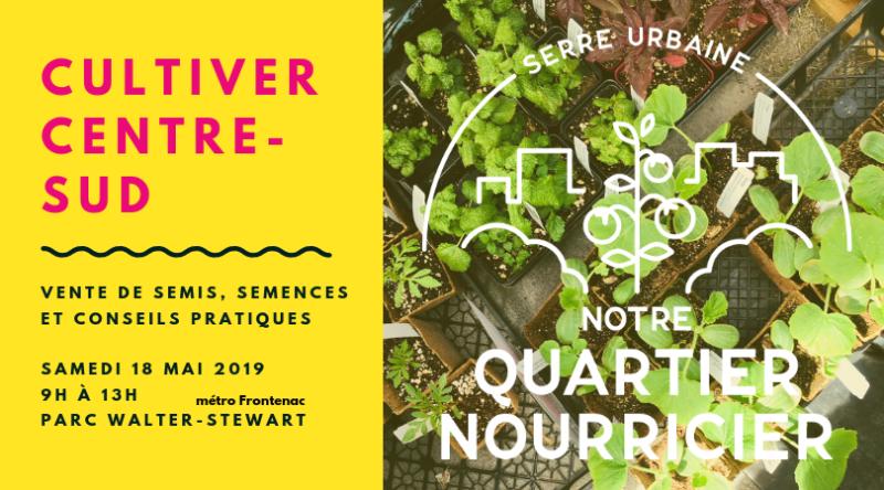 Cultiver Centre-Sud, 18 mai 2019