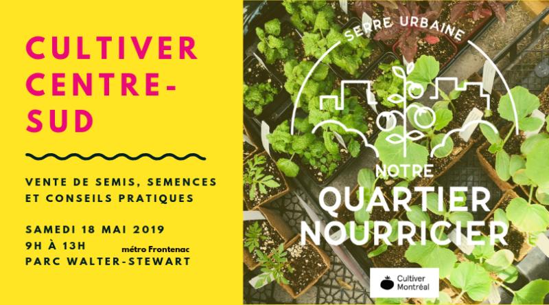 Cultiver Sentre-Sud 18 mai 2019